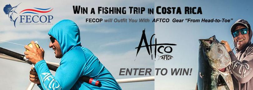 Gana un viaje de pesca en Costa Rica