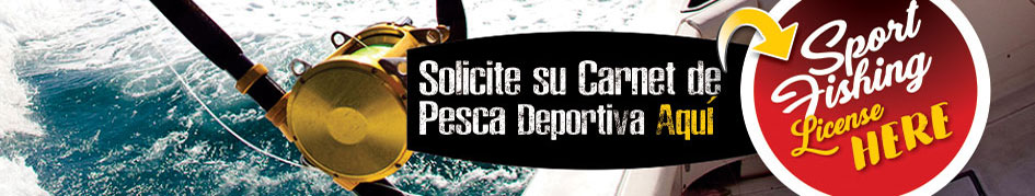 Costa Rica fishing license online