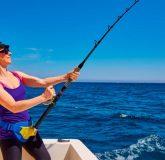 Mujeres amantes de la pesca deportiva