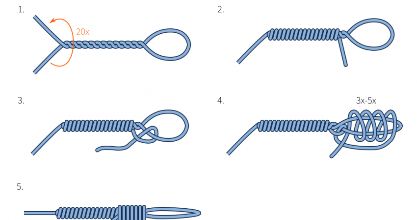 saltwater fishing knots
