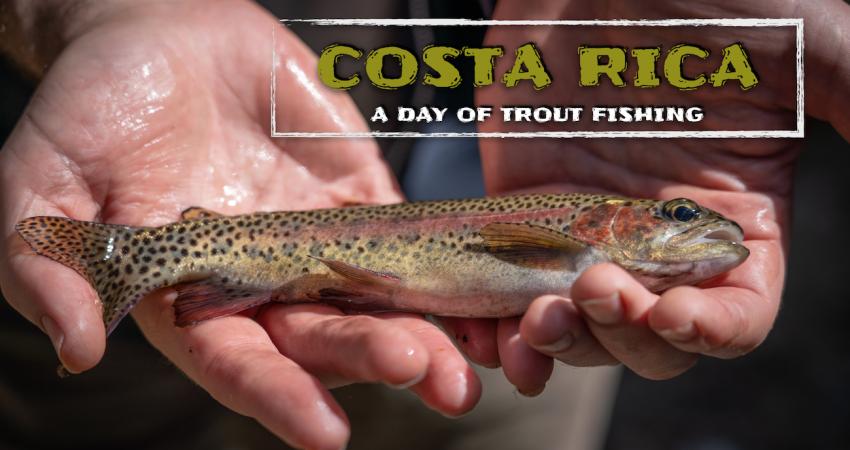 Costa Rica pesca de lago y río.
